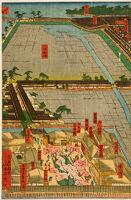 Detailed Image Of Yokohama Honchō And The Minatozaki Pleasure Quarter (Yokohama Honchō ... Ni Minatozaki Saiken Zu)