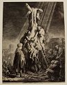 The Descent From The Cross: Second Plate
