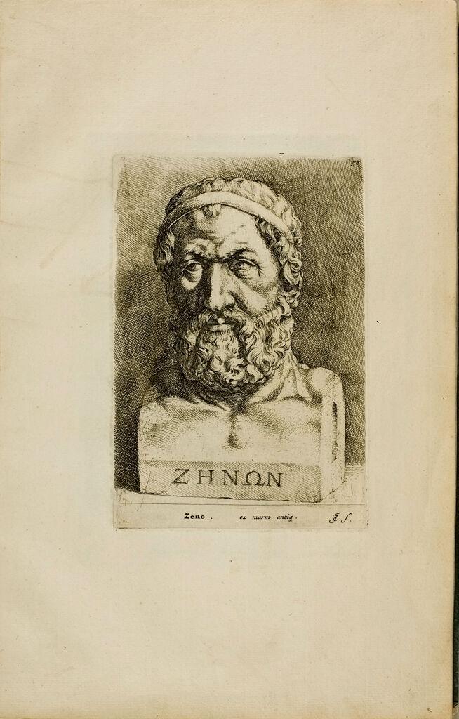 Plate 50: Head Of Zeno
