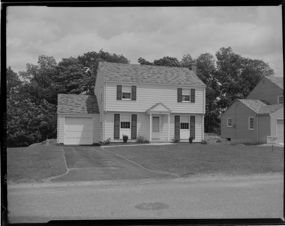 Untitled (exterior of two-story house) | Harvard Art Museums