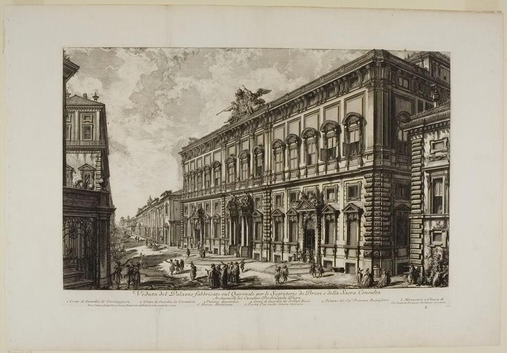 View Of The Palazzo Della Consulta