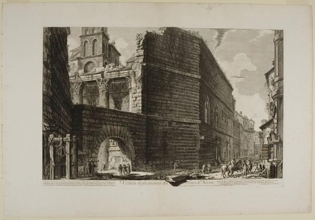The Forum Of Augustus (Erroneously Called Forum Of Nerva)
