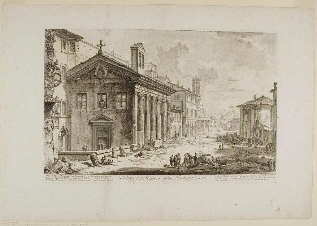 The So-Called Temple Of Fortuna Virilis (Now Church Of S. Maria Egiziaca)