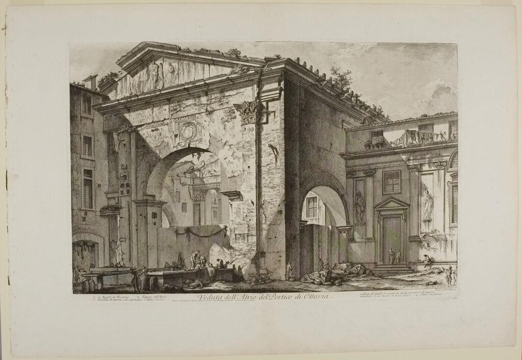 The Portico Of Octavia: The Entrance Porch. Exterior