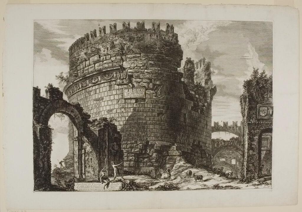 The Tomb Of Caecilia Metella