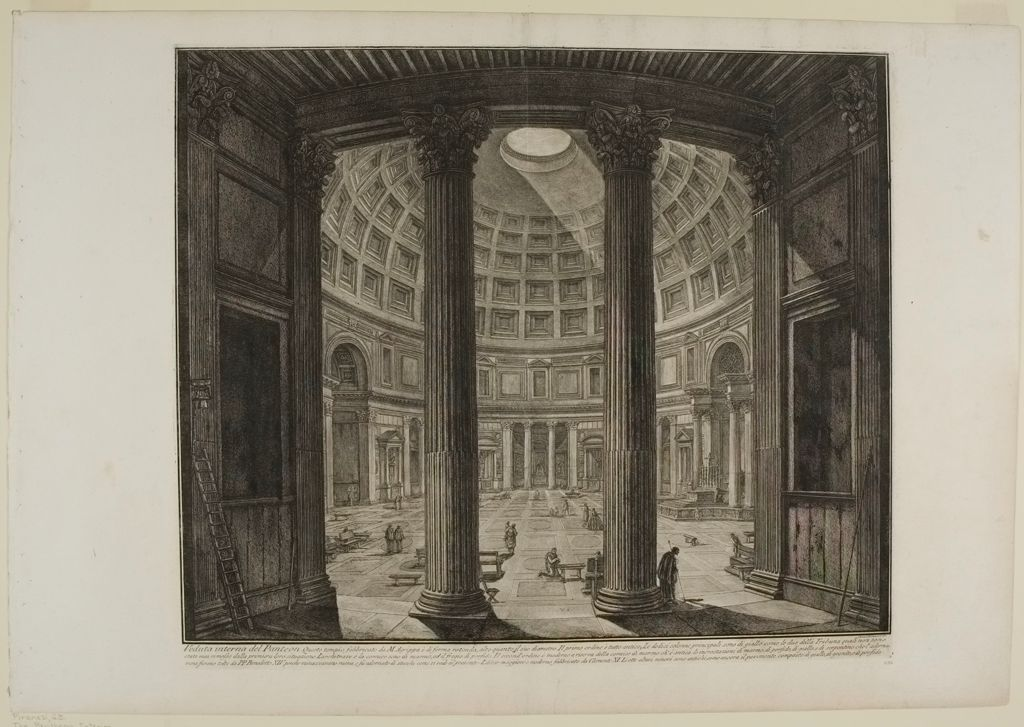 The Pantheon. Interior.