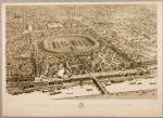 Bird's Eye View of the Universal Exposition, Paris