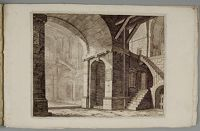 Interior Of A Castle With Composite Corinthian/egyptian Columns