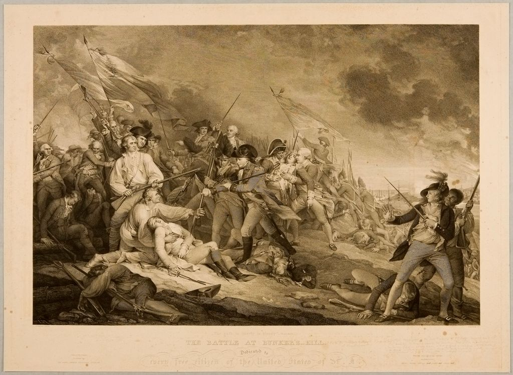 Battle At Bunker's Hill