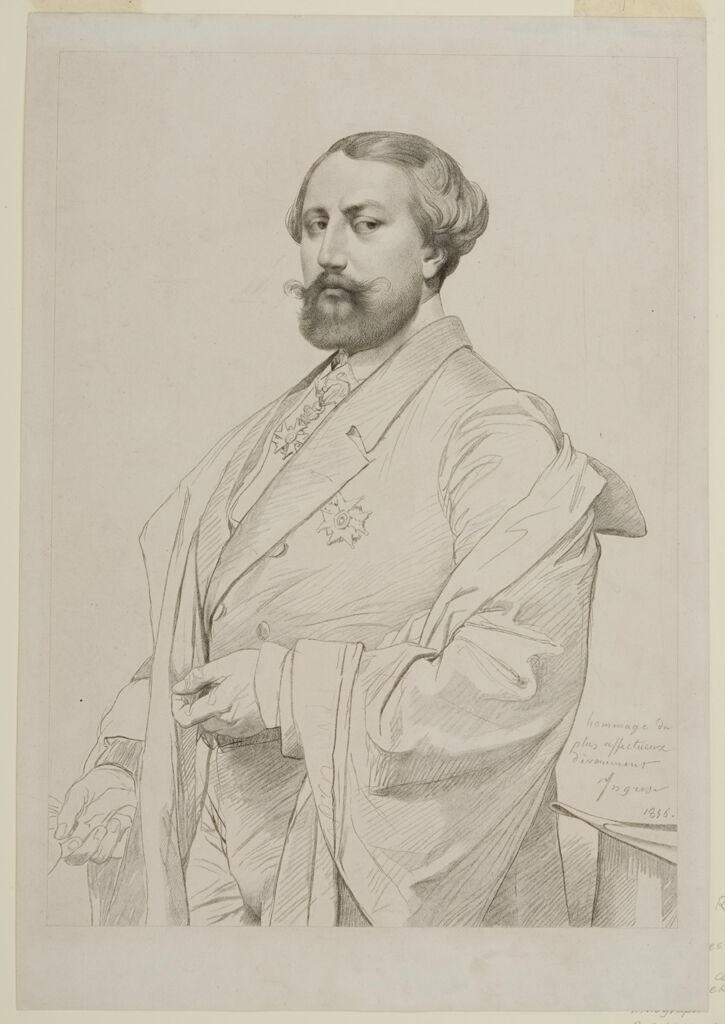 Portrait Of Comte Nieuwekerke