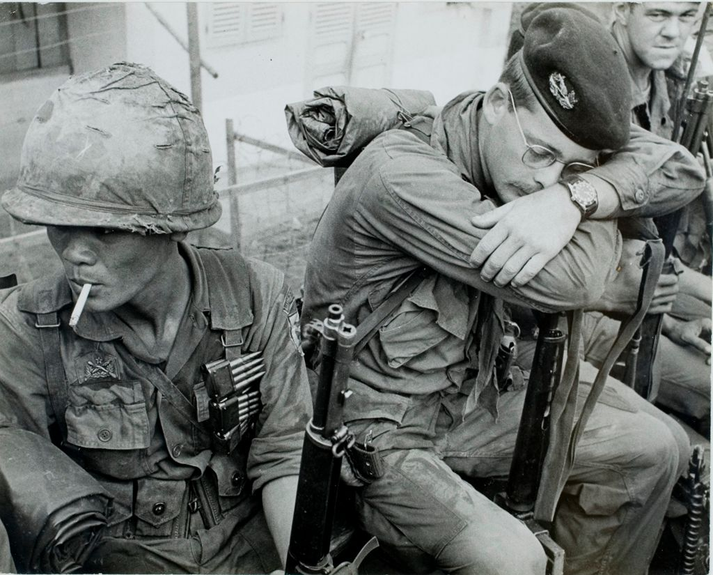 Untitled (Soldiers On Patrol Mission, Vietnam)