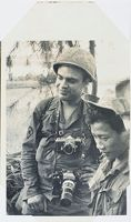Untitled (Gordon Gahan With Two Soldiers, Vietnam)