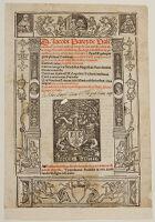 Border And Printer's Mark Of Jehan Petit