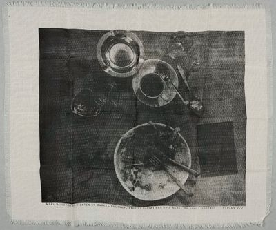 Meal Variation No. 2 Eaten By Marcel Duchamp, From 31 Variations On A Meal