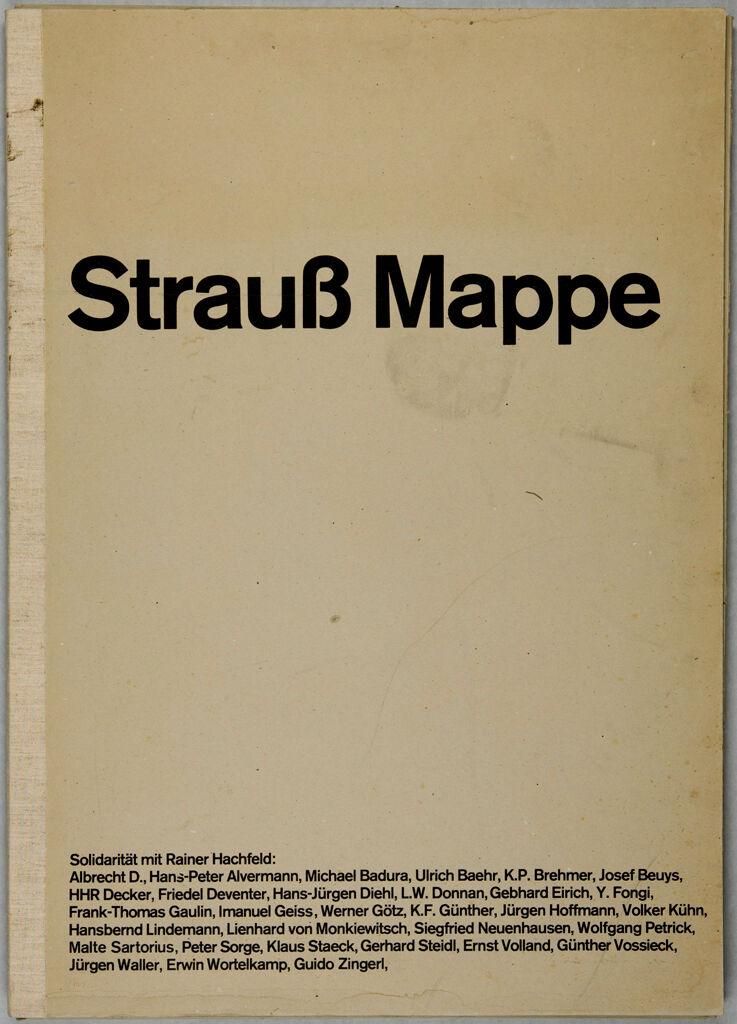Strauss Mappe