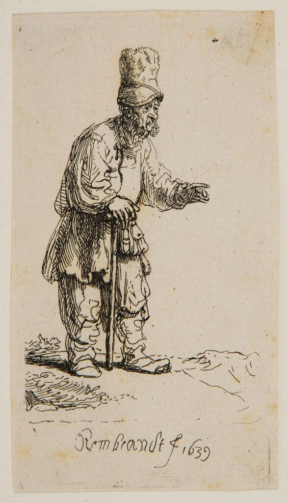 Peasant In A High Cap