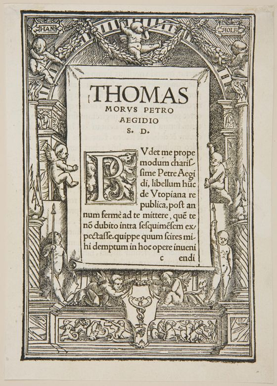 an analysis of thomas mores use of dialogue in utopia An analysis of thomas mores use of dialogue in utopia a library of literary the leading international weekly for a literary analysis of the poem by cross.