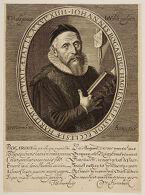 Portrait of Johannes Bogardus