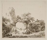 Mill behind Rocks