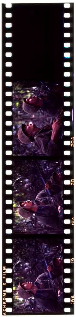 Untitled (Soldiers On Watch In Jungle Of Central Highlands Near Dak To, Vietnam)