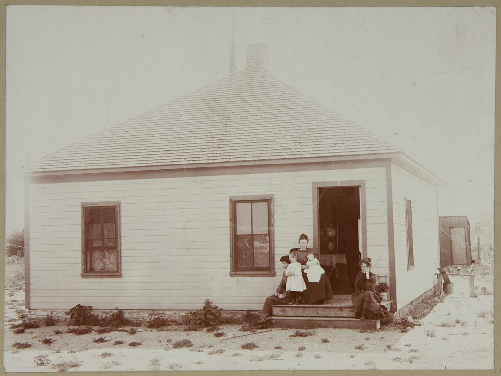 Industrial Problems, Welfare Work: United States. Colorado. Pueblo. Colorado Fuel And Iron Company: Colorado Fuel And Iron Company: Lime, Col., House For Miners; 4 Rooms. Built 1900. Rent $8 Per Month.