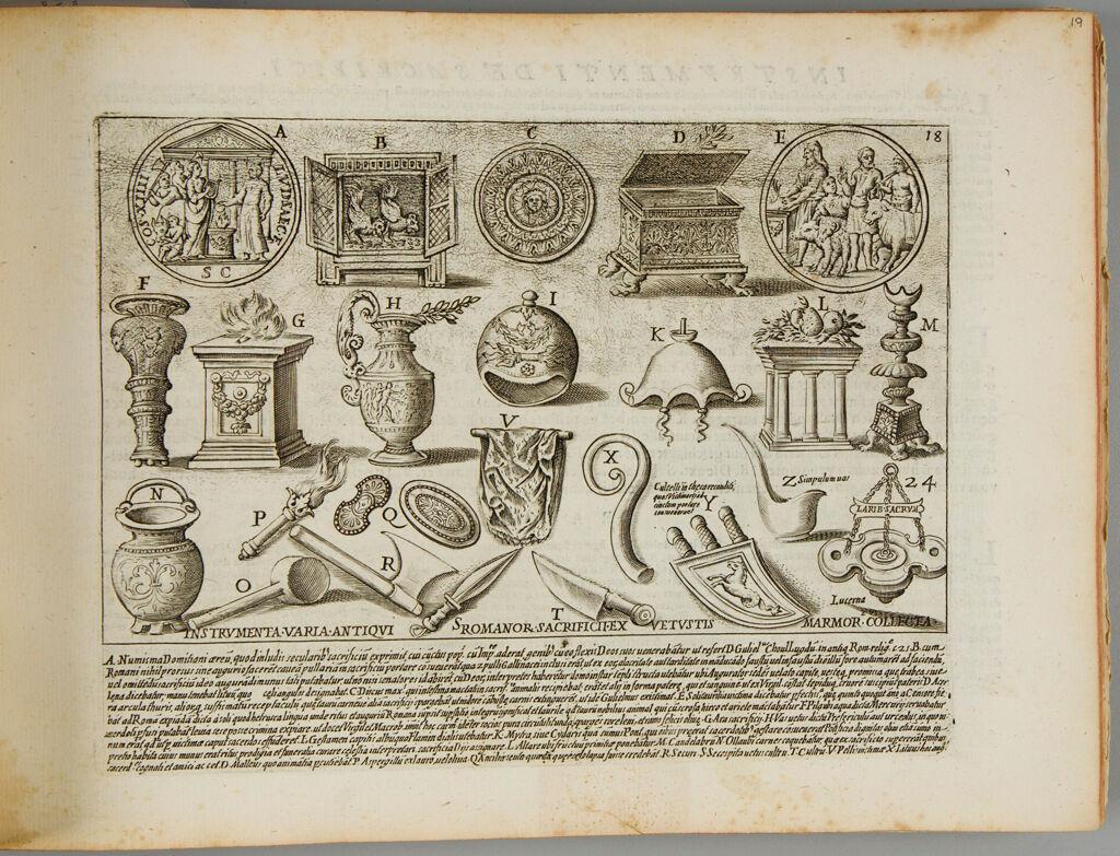 Sacrificial Equipment Of The Ancient Romans