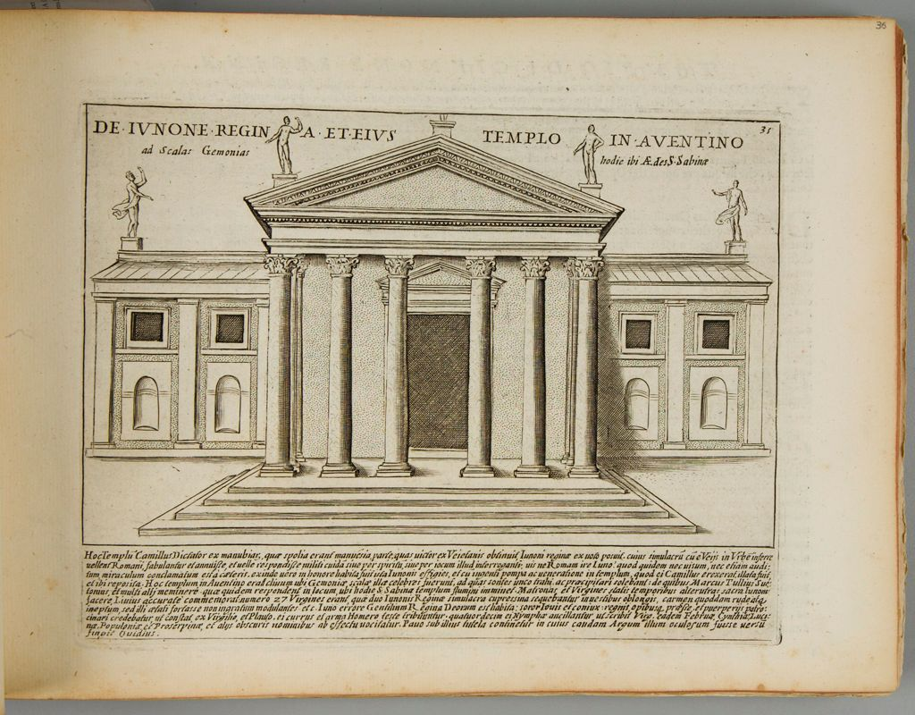 The Temple Of Juno On The Aventine