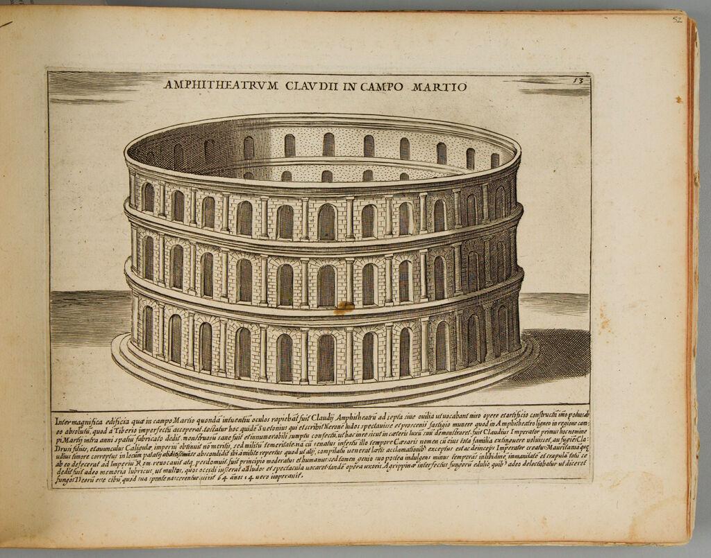 The Amphitheater Of Claudius In The Campus Martius