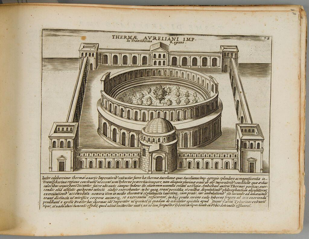 Baths Of Aurelius In The Transtiberina