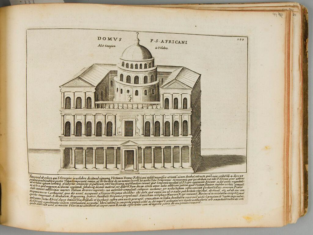 The House Of Publius Cornelius Scipio Africanus