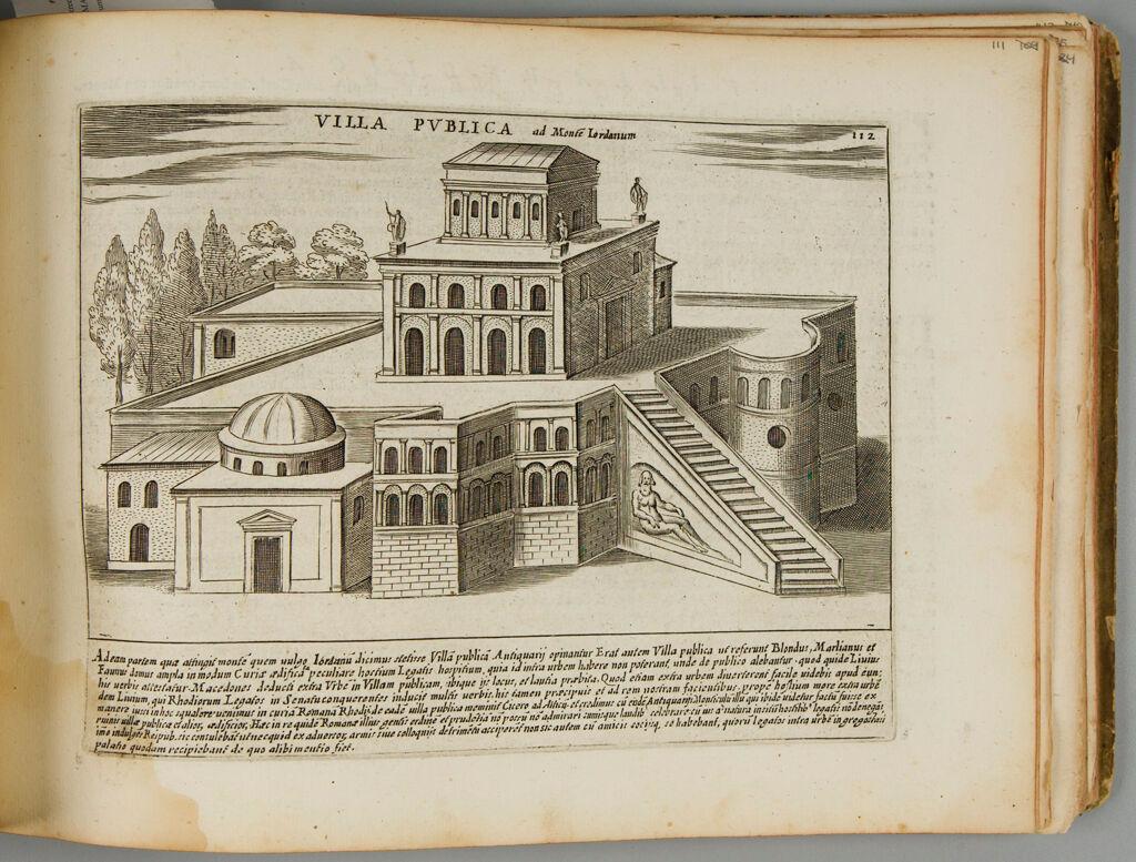 The Villa Publica On The Monte Giordano