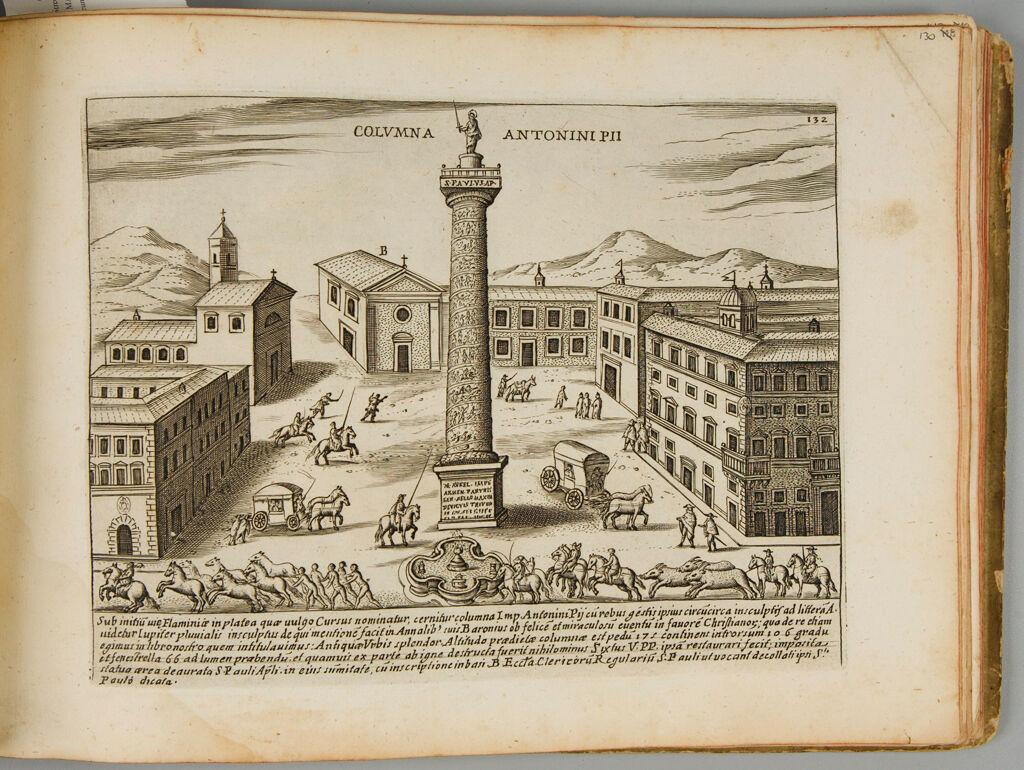 The Column Of Antoninus Pius