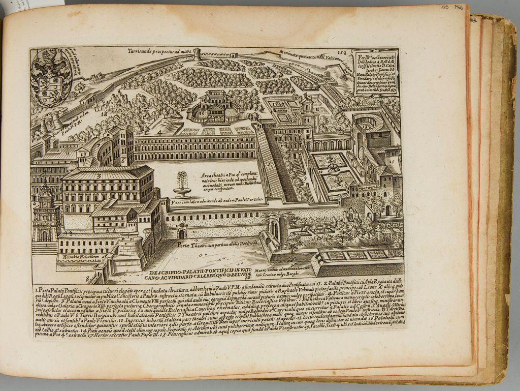 A Description Of The Papal Palace At The Vatican And Of The Celebrated Pleasure-Garden Of The Belvedere