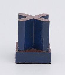 Chess Piece: Blue Bishop