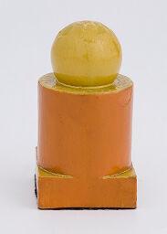 Chess Piece: Orange Queen