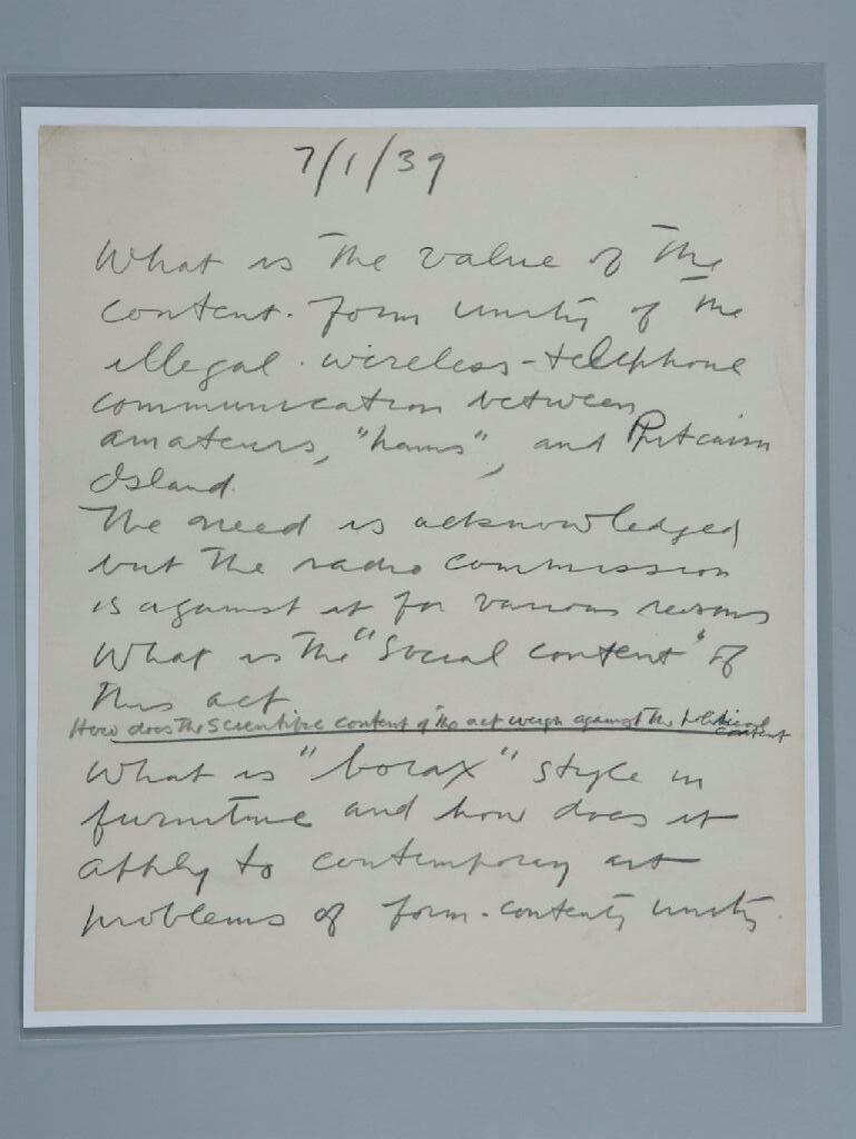 Stuart Davis Papers