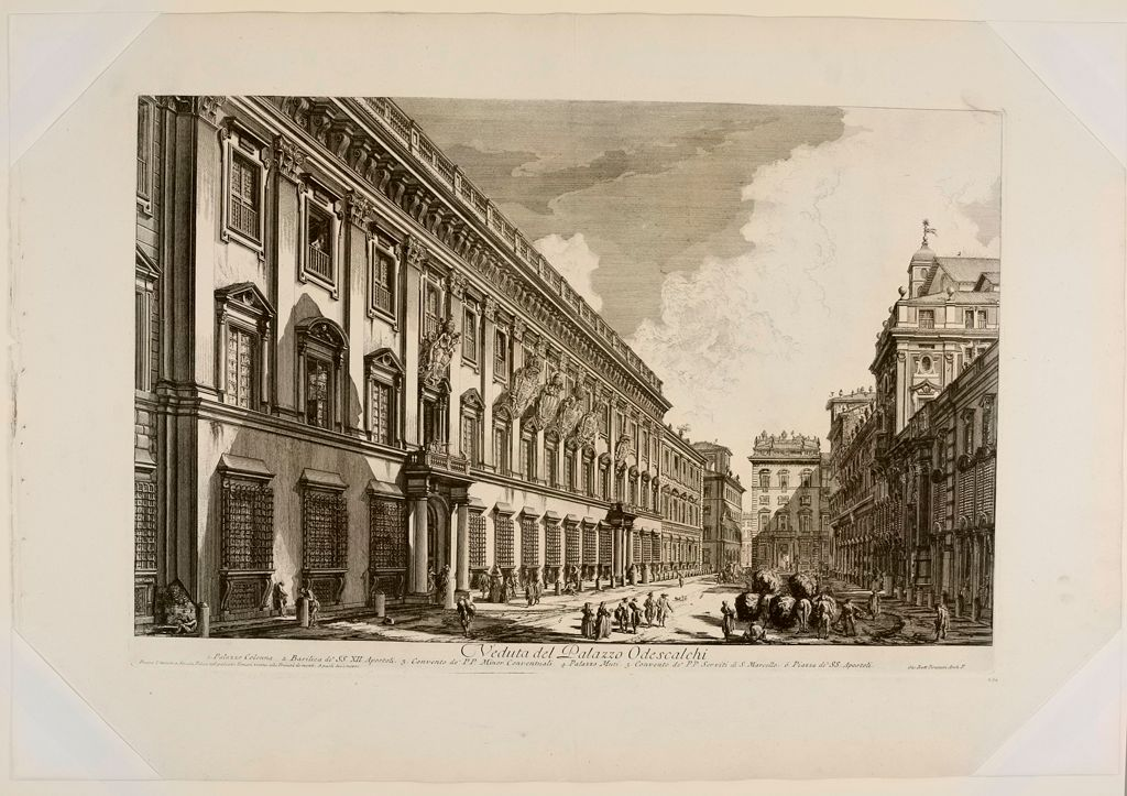 The Palazzo Odescalchi