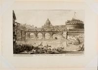 View Of The Bridge And Castel Sant' Angelo