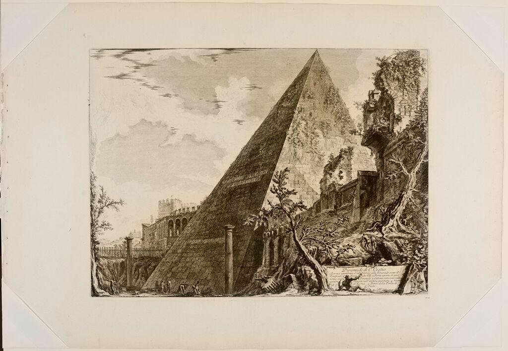 The Pyramid Of Caius Cestius