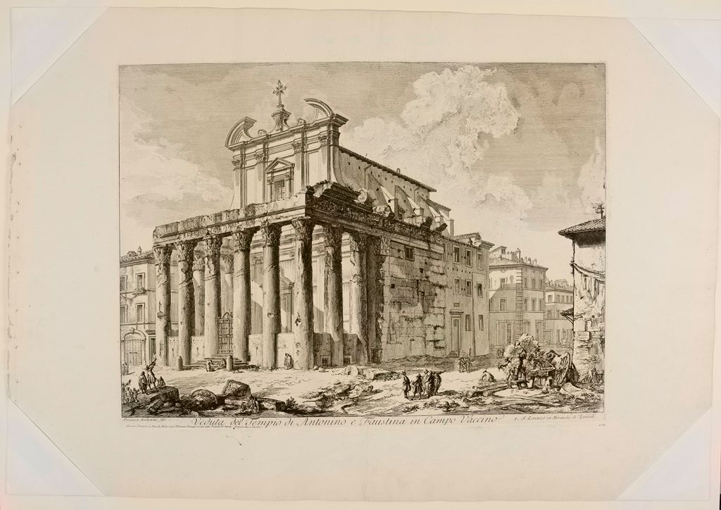 The Temple Of Antonius And Faustina