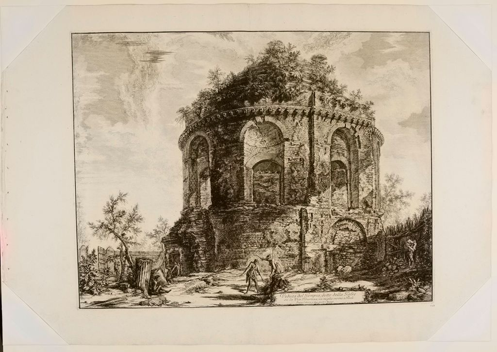 The So-Called Tempio Della Tosse, Near Tivoli