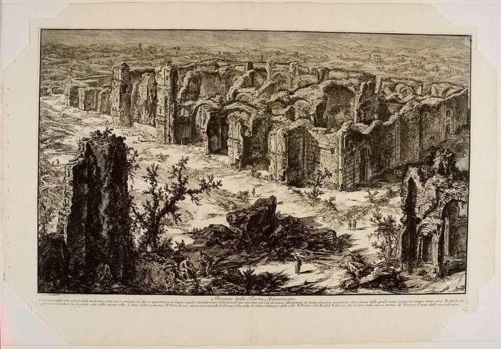 The Baths Of Caracalla, Bird's Eye View