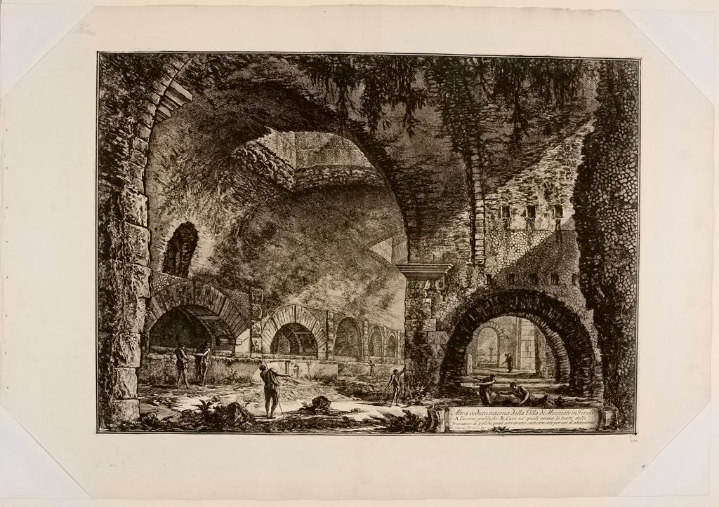 The So-Called Villa Of Maecenas At Tivoli. Interior.
