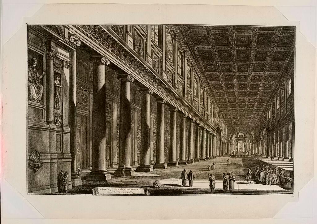 S. Maria Maggiore. Interior.