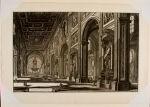 Interior View of the Basilica of San Giovanni Laterano