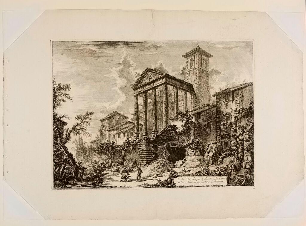 The So-Called Temple Of Hercules, At Cori