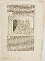 King Manasses Doing Penance In Captivity; Verso: Return Of The Prodigal Son