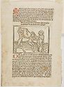 The Binding Of Achior; Adah And Zillah Tormenting Lamech; Verso: Job Scourged By The Devil's Whip And His Wife's Words