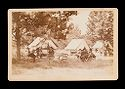 Untitled (General Grant Seated Under Tree With Two Unidentified Men, Six Other Unidentified Men To Right, Three Tents In Background)