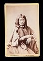 Untitled (Half-Length Portrait Of Native American Woman, Labeled Chief Washington's Daughter)